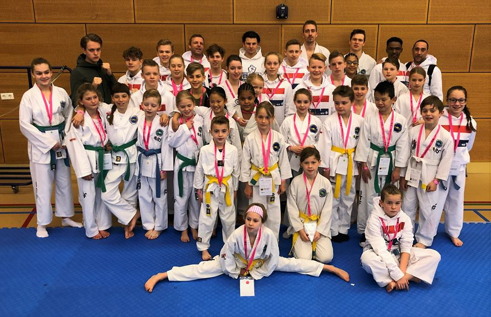 Team CB19NL: ITF Taekwon-Do team