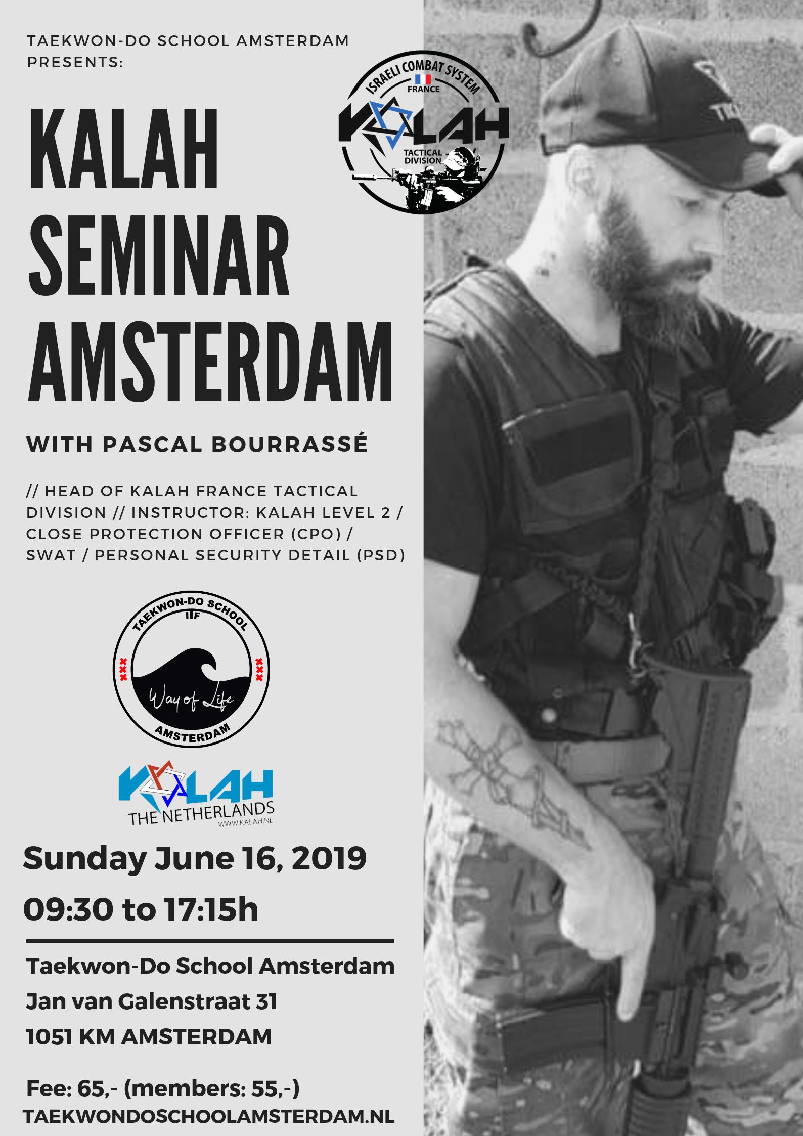 Kalah Seminar Amsterdam met Pascal Bourrassé