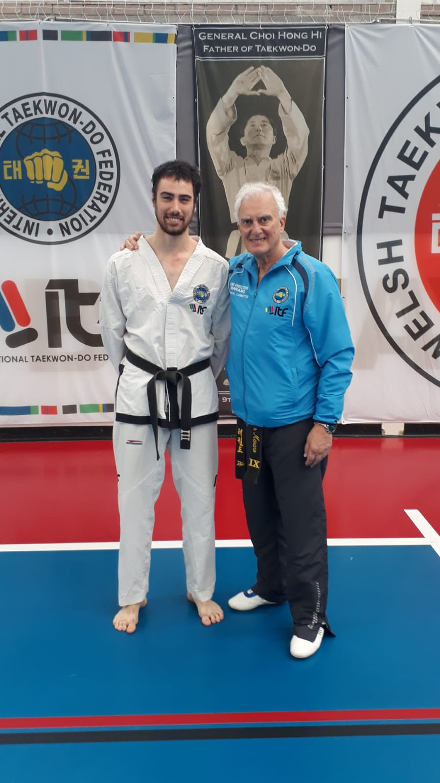 Franco met Grand Master Marano