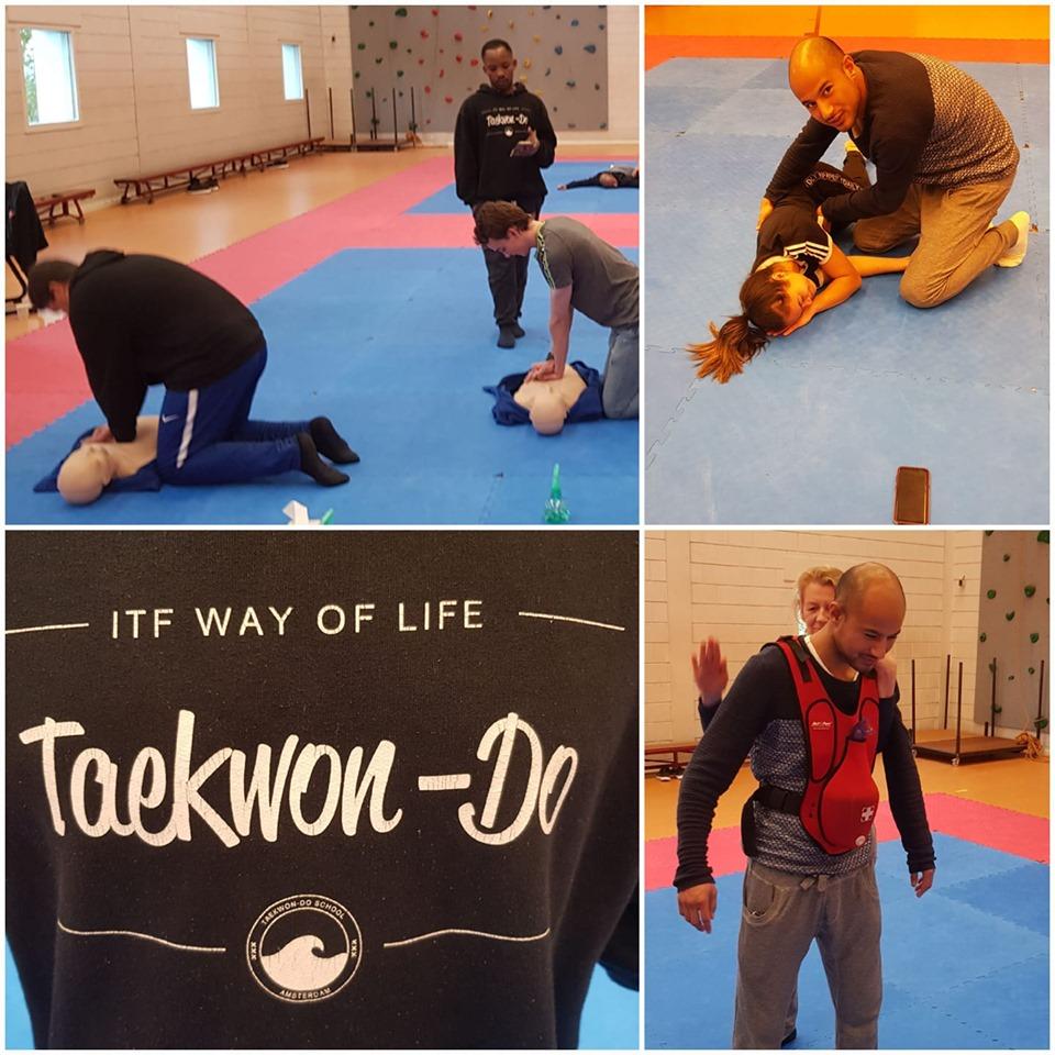 Cursus BHV Reanimeren kun je leren bij Taekwon-Do School Amsterdam