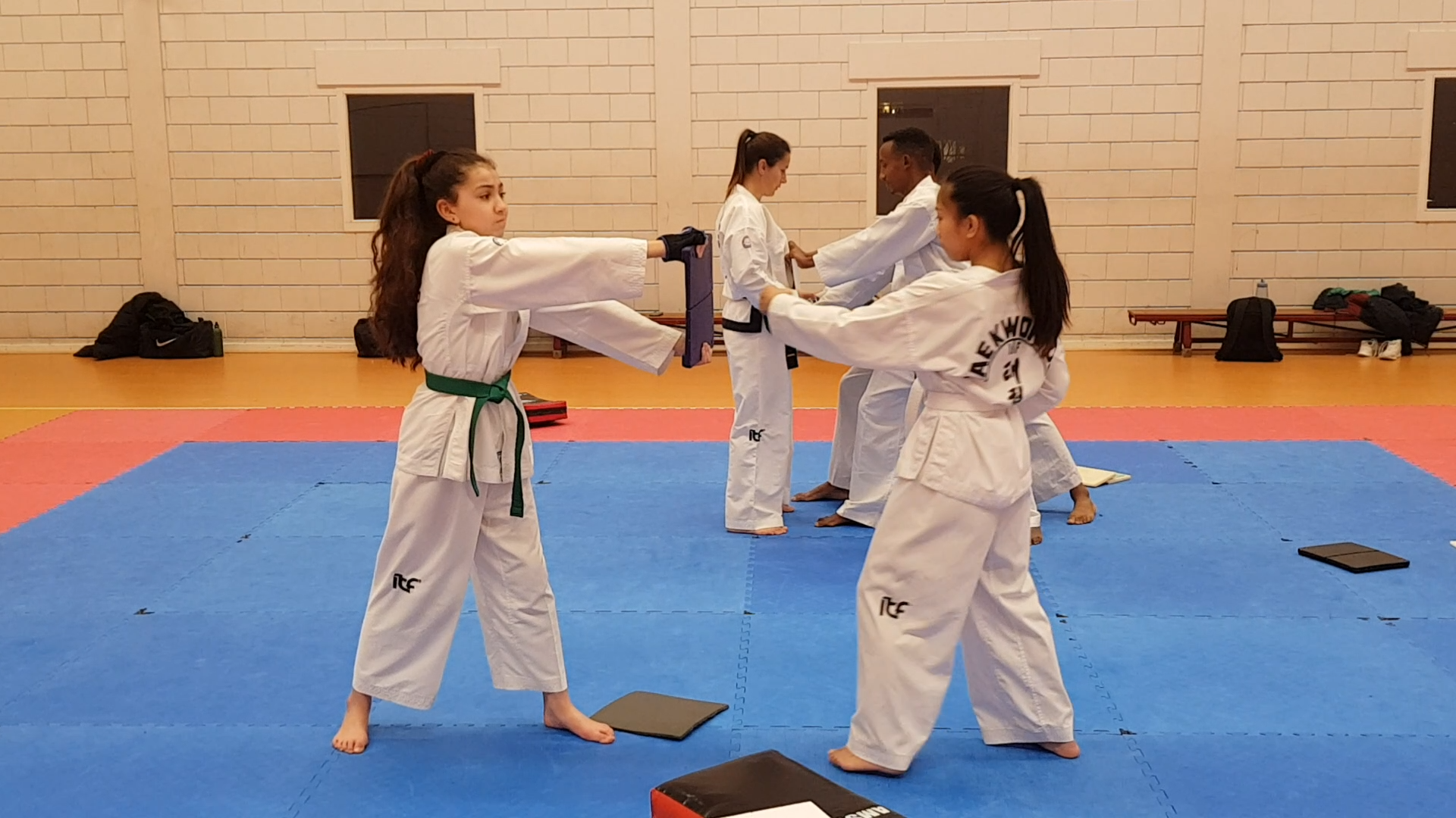 power breaking sessie taekwon-do school amsterdam